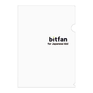bitfan for Japanese Idol 限定クリアファイル